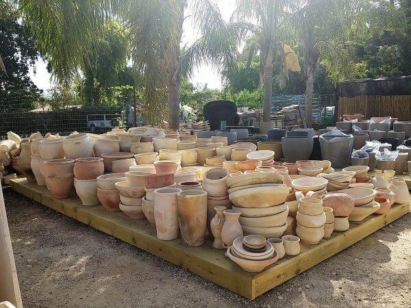 כלי שתילה חרס ערבי חברוני