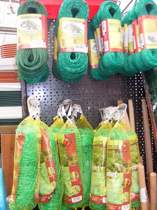 רשתות להדלייה וטיפוס צמחים